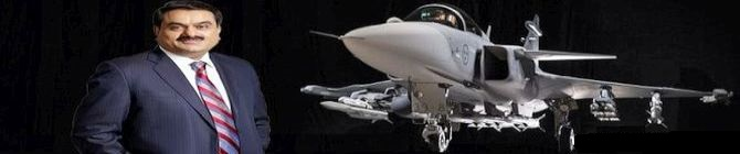 Adani Group signed JV with SAAB to manufacture Gripen fighters for MMRCA deal in India