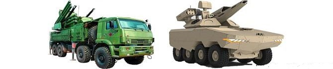 Russia's Pantasir S1 & South Korea's Hanwha-K-30_Biho_Air Defence System