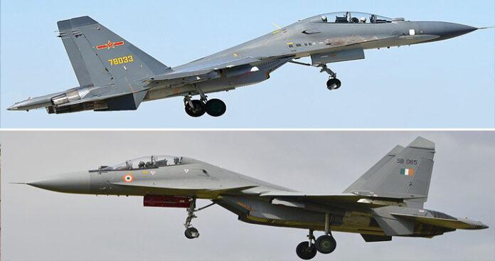 IAF's Sukhoi Su-30MKI Vs PLAAF's Sukhoi Su-30 MKK/MK2 – Indian Defence Research Wing