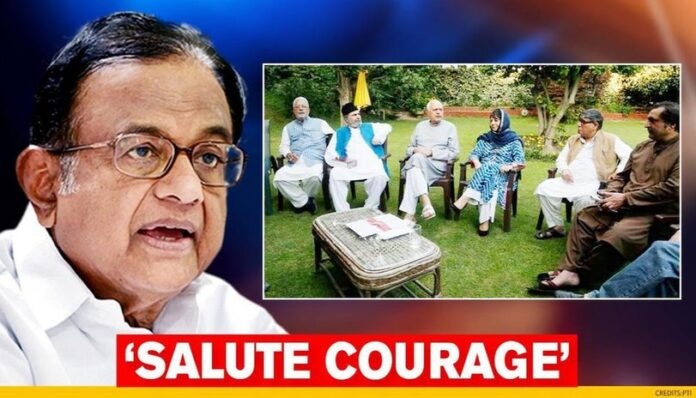 P Chidambaram Backs J&K Parties' Demand For Restoration Of Article 370, Cites Constitution – Indian Defence Research Wing