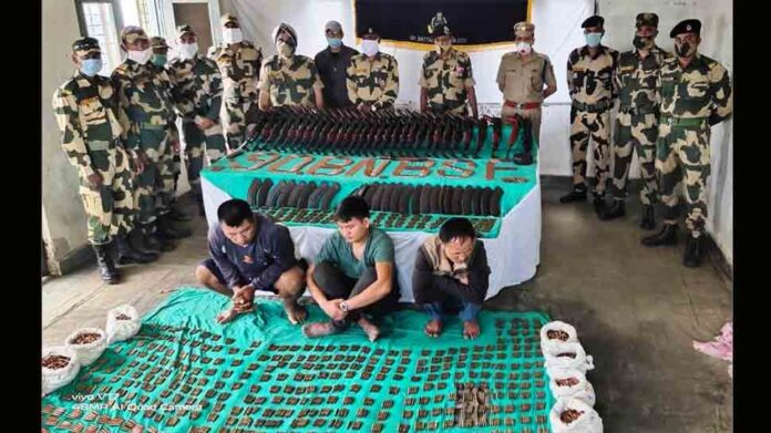 BSF seizes 28 rifles, 7894 ammunition meant for northeast insurgent groups – Indian Defence Research Wing