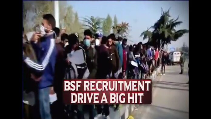 "Thousands Throng BSF's Recruitment Camp To Serve ""Mother India"", Teach Pak A Lesson – Indian Defence Research Wing"